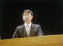 滝推進官(文部科学省研究開発局地震・防災研究課)よる開会の挨拶