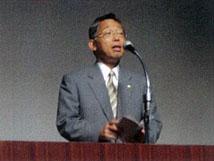 田中副知事(長崎県)による開会の挨拶