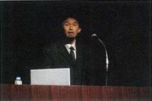 宮岡調査官(文部科学省研究開発局地震・防災研究課)の説明