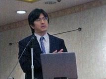 佐竹副センター長(産業技術総合研究所活断層研究センター)による講演