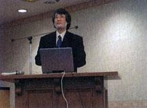 村上先生(徳島大学大学院)による講演1