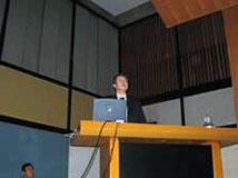 長谷川先生(香川大学工学部)による基調講演1