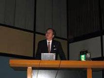 河田先生(京都大学防災研究所)による基調講演1
