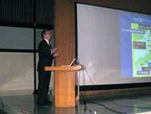 河田先生(京都大学防災研究所)による基調講演2