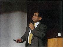 竹村教授(京都大学大学院)による講演