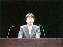 滝推進官(文部科学省研究開発局地震・防災研究課)による開会の挨拶