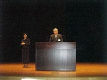 中西防災危機管理部長(三重県)による開会の挨拶