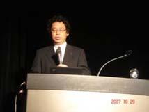 林教授(京都大学防災研究所巨大災害研究センター)の基調講演
