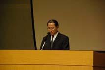 小林局長による開会の挨拶