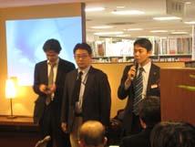 後藤店長(三省堂書店)による開会の挨拶