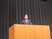 森下市長(橿原市)による開会の挨拶