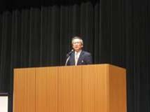 松田総合防災監(奈良県)による閉会の挨拶