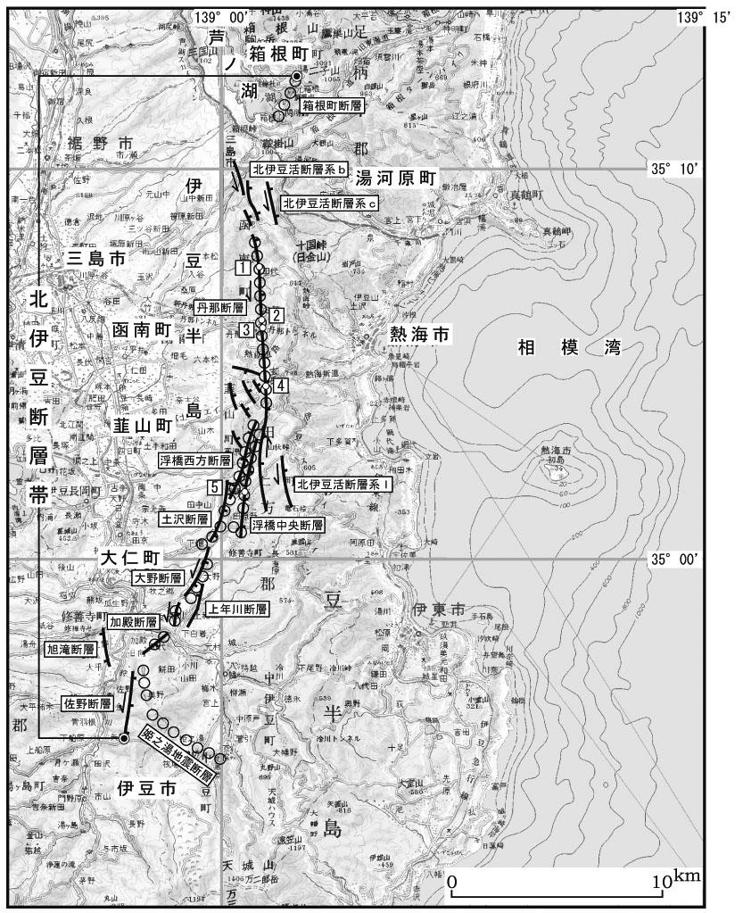 【 断層帯の過去・将来の活動 】 【 将来の地震発生の可能性 】 【 ... 北伊豆断層帯