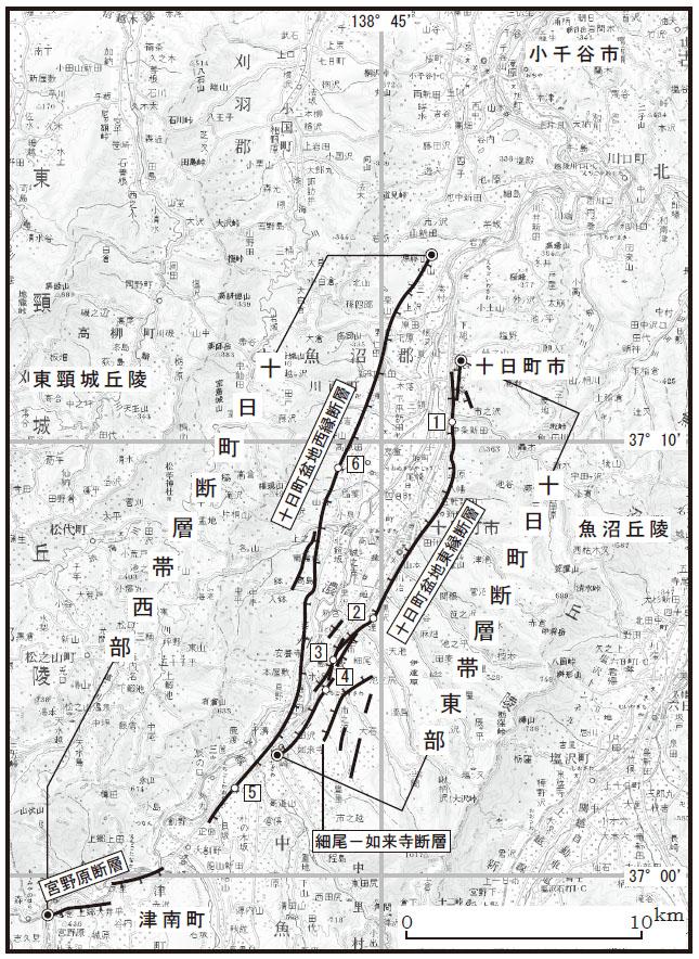 【 断層帯の過去・将来の活動 】 【 将来の地震発生の可能性 】 【 ... 十日町断層帯