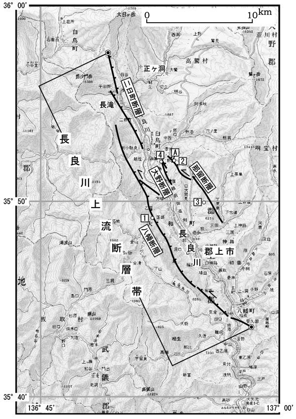 【 断層帯の過去・将来の活動 】 【 将来の地震発生の可能性 】 【 ... 長良川上流断層帯